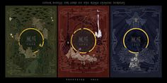 Las portadas chinas de El Señor de los Anillos por el artista Jian Guo.