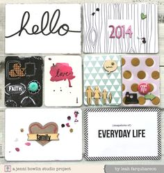 Leah Farquharson - project life 2014 title page