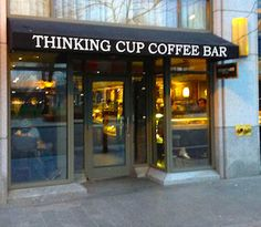Likely Jason's favorite place we will visit in Boston this summer! 6.1.2016 - Thinking Cup Coffee Shop Official Website - Boston