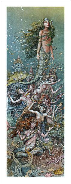 The Little Mermaid by Boris Diodorov [©2011]