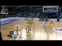 Insane basketball shot from some Euro league
