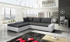 Versatile corner sofas & L shaped sofas for bigger spaces & larger rooms. Make a real statement with our comfortable, stylish L shaped corner sofas. L Shaped Sofa, Corner Sofa, Living Room Sofa, Casablanca, Sofa Set, Couch, Bed, Furniture, Home Decor