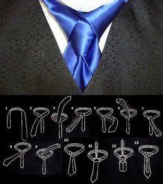 كيف تقوم بعمل ربطة عنق مميزة وجميلة خطوة بخطوة