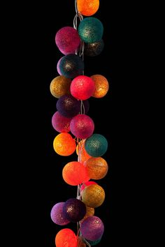 mexican string lights by cable and cotton | notonthehighstreet.com