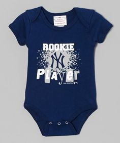 Take a look at this Navy New York Yankees Bodysuit - Infant by T.E.I. on #zulily today!