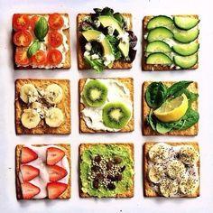 spread of bread (or crackers) :))
