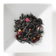 Mandarin Rose black tea boasts a garden of aromatic, candy-pink petals and rich black China tea leaves that result in a delicate wine essence with hints of chocolate and rose. This exotic Mighty Leaf signature blend offers a fragrant and visually memorable experience.