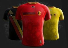 """Belgium - The 2014 World Cup Jerseys, Ranked from Snazziest to Most """"Meh"""""""