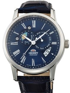 Orient ET0T004D sun and moon automatic watch
