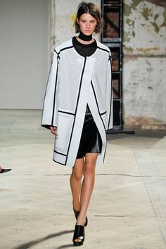 #RachelZoe Top Trend: Black & White a la Proenza Schouler SS'13. Yessss :)