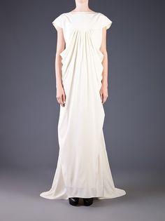 PODOLYAN - boat neck long dress