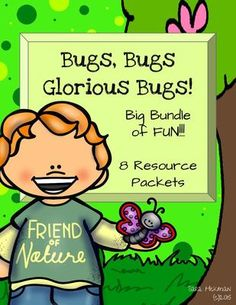 Bug and Insect Bundle from The Play-Based Preschool on TeachersNotebook.com -  - All Bug and Insect products in one resource with one low price!