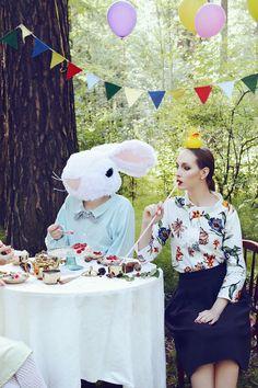 """Happy Birthday Little Girl""  mds:Anna, Egor, Anastasiya; ph, costumes, decorations: Ksenia Alizabal"
