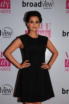 Dia Mirza at Vogue Awards 2013.