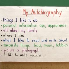 All about me Autobiography