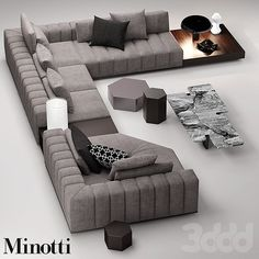 minotti freeman seating system