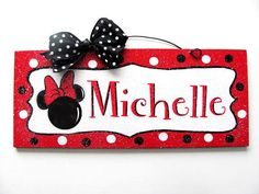 6x12 in. recycled wood sign acrylic paint with print. Coated with indoor/outdoor gloss and clear glitter. Wire and bow accent. Custom name. Leave note at checkout with name you want added. -------( Pr