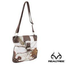 #Realtreesnow #Camo Bling Buckle Cross Body #Bag - $24.99