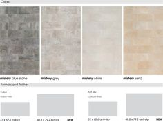 Mistery Collection Formats and x 31 Anti-slip 31 x Smooth & Anti-slip x Smooth & Anti-slipMore Colors Mistery Wall Tiles, Swimming Pools, Indoor, Patio, Flooring, Stone, Interior, Walls, Blue
