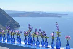 DIY Santorini wedding