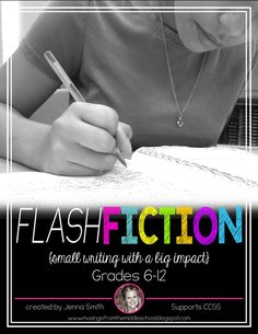 Musings from the Middle School: Writing Flash Fiction 6th Grade Writing, 8th Grade Ela, 6th Grade Reading, Middle School Writing, Kids Writing, Teaching Writing, Writing Ideas, Sixth Grade, Teaching Ideas