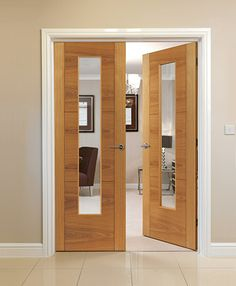 New door styles Mistral Oak Glazed a quality oak door range to suit any home.....delivered throughout the UK mainland. #mistraldoors #directdoors & JB Kindu0027s River Oak Isis and Emral modern style doors. Beautiful oak ...