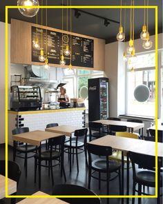 Interior Design // Corporate Design // Burger Restaurant in Munich // meat IN bun // Mery Reif // LOVA