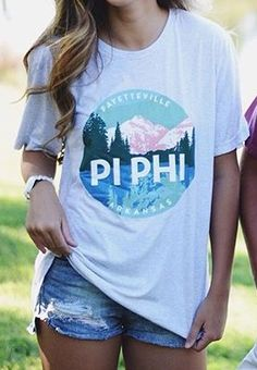 e8f121bba Pi Beta Phi shirt #piphi #pibetaphi Delta Phi Epsilon, Pi Beta Phi,