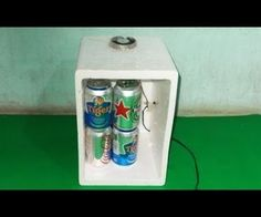 Homemade Mini USB Fridge DIY Frefrigerator Chiller Air Conditioner Peltier Cooler Thermoelectric by Foam Containers