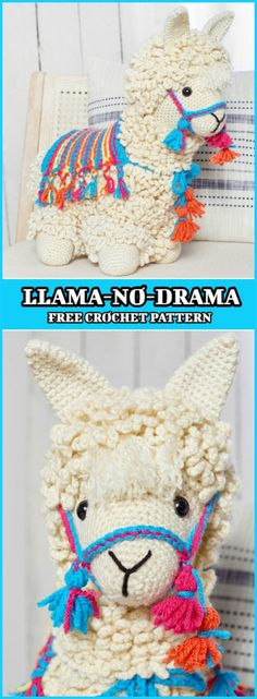 How To Crochet Llama Free Pattern - Let's learn to make one of the most beautiful crochet Llama you've ever seen. This is a fresh new project that has been revealed just few days ago. So, if you are an animal lover and enjoy making different kind of animals with your own hands, then this cute little Llama is something you will adore.
