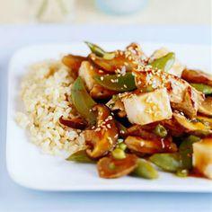 Ginger Pork with Tofu