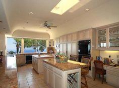 Spectacular Kitchen design of Walske Residence in Kamuela Hawaii United States