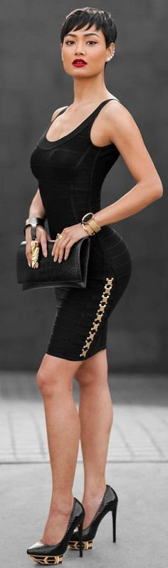 Black & Gold / Fashion By Micah Gianneli
