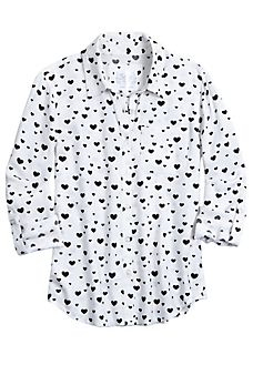 Printed Button Up Shirt - alternate image