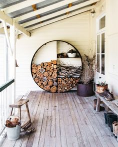 Garden-centric objects and furniture. Outdoor Areas, Outdoor Rooms, Outdoor Living, Outdoor Decor, Garden Design, House Design, Home And Deco, Home Reno, My Dream Home