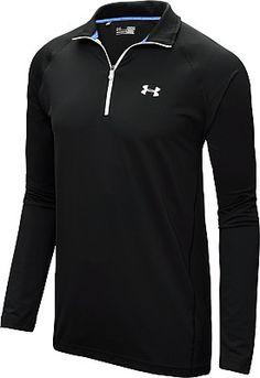 UNDER ARMOUR Men's Lightweight Golf 1/4-Zip Long-Sleeve Top
