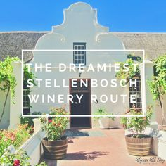 Here is the perfect winery route for a day of wine tasting through Stellenbosch, South Africa. Cape Town Holidays, Wine Tasting Experience, Wine Safari, Order Wine Online, Wine Gift Baskets, Adventure Bucket List, Port Elizabeth, Wine Bottle Labels, Bottle Carrier