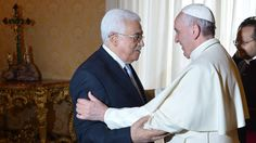 "The Pope calls Abbas ""Angel of Peace"""