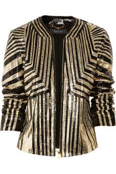 she would invest in the standout piece of her favorite design house's collection. This jacket is timeless.