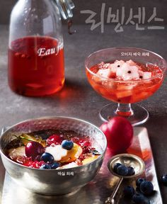 korean fruit cocktail,   화채