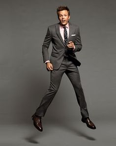 Joel Mchale. You, good sir, are rockin and awesome suit.