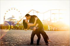 Santa Monica Engagement Session - Lori-Lynn Navarro Photography