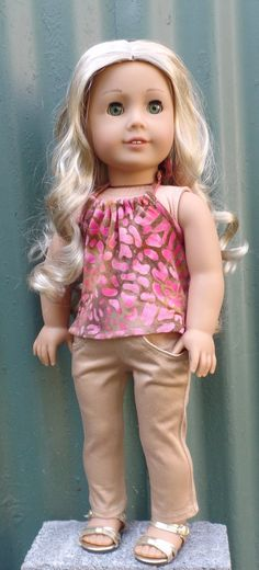 Hey, I found this really awesome Etsy listing at https://www.etsy.com/listing/398007017/american-girl-doll-clothes-batik-print