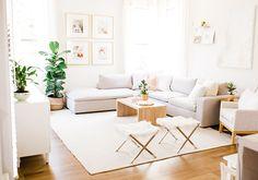Easy Family Room Makeover Tips