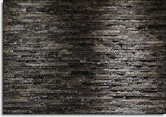 Papier-peint Photo Noir & Charbon style PIERRE MUR décoration murale 368x254cm