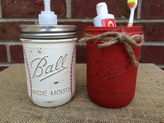 Hand Painted Baseball Bathroom Set. Baseball Soap Dispenser. Baseball Bathroom  Decor. Man Cave