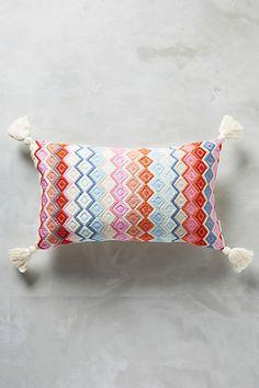 Archive New York San Pedro Diamond Pillow #anthropologie