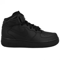 purchase cheap 20bfe bc1db NIKE AIR FORCE 1 MID BLACK BLACK WOMENS