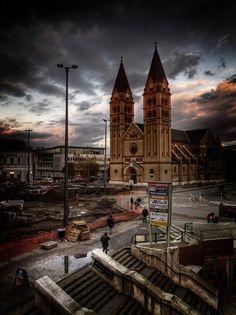 Nyíregyháza, Kossuth tér Cathedral, Architecture, Building, Travel, Arquitetura, Viajes, Buildings, Cathedrals, Destinations