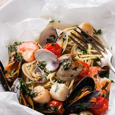 seafood pasta by l-i-s-k-a #food #yummy #foodie #delicious #photooftheday #amazing #picoftheday